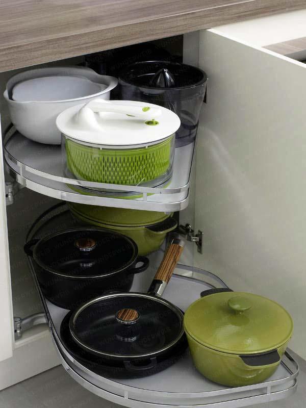 идеи для хранения кухонной утвари