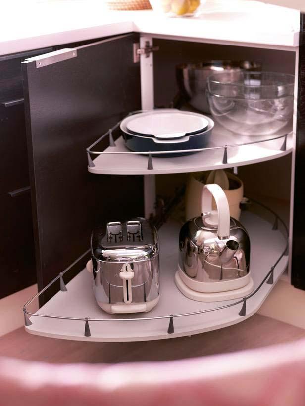 как хранить кухонную утварь