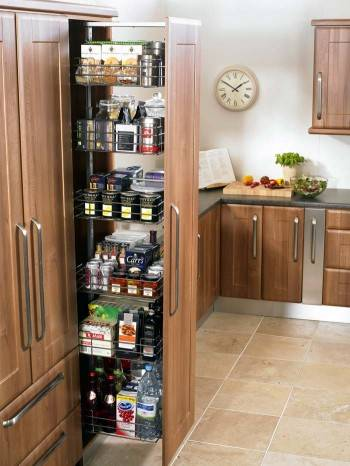 шкаф для хранения на кухне
