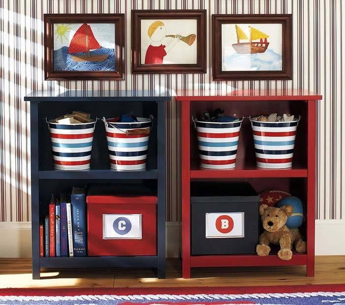 стеллажи для детских комнат