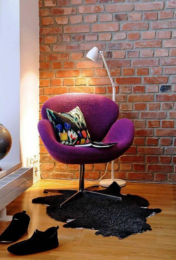 места для чтения и отдыха в квартире