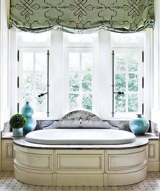 ванная с окном фото