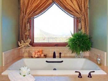 окно ванной комнаты фото