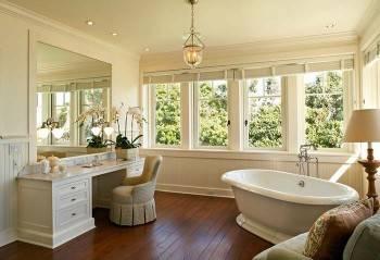 окна в ванной комнате