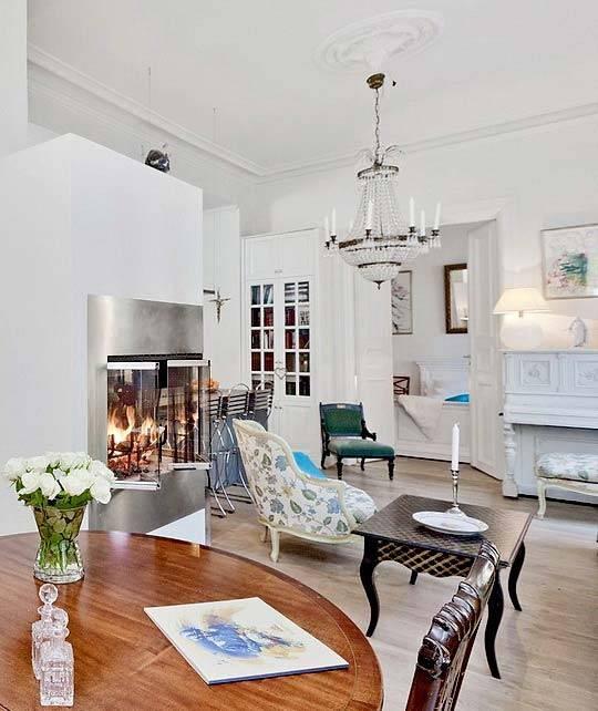 дизайн интерьера квартиры в норвегии