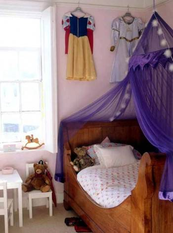 балдахин в детской комнате