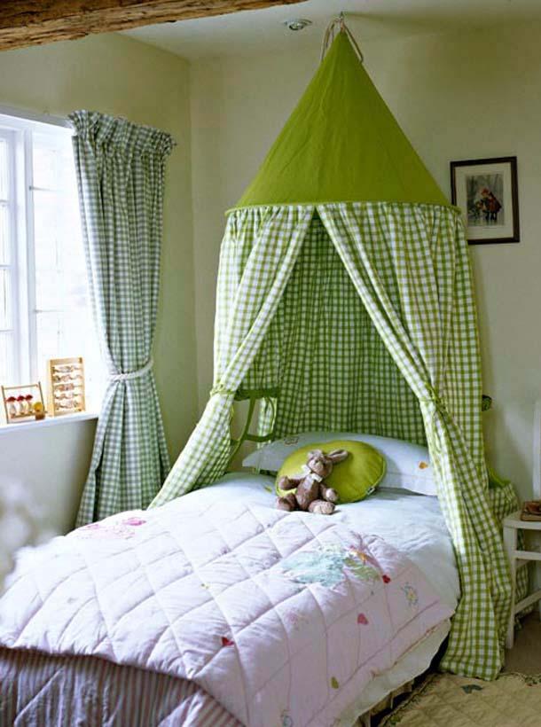 кровать для ребенка с балдахином