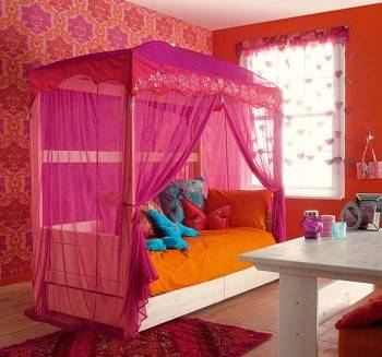 балдахин для детских кроватей фото