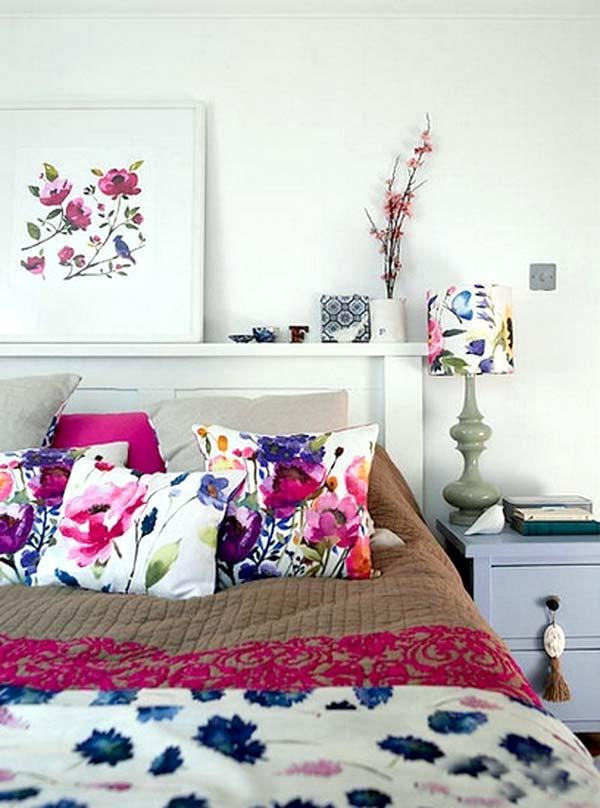 цветочный декор интерьера