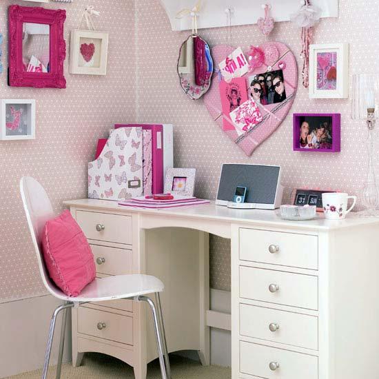 рабочий стол для девочки