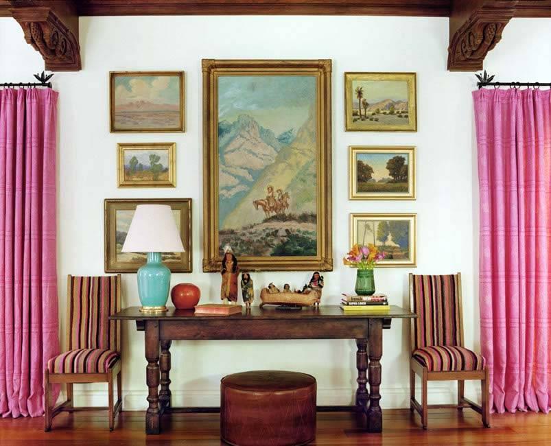 дизайн интерьера schuyler samperton, дом в Беверли Хиллс