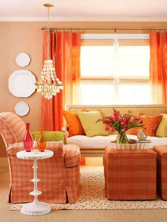 оранжевый дизайн