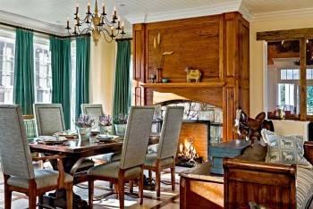 красивый дом, деревеский стиль