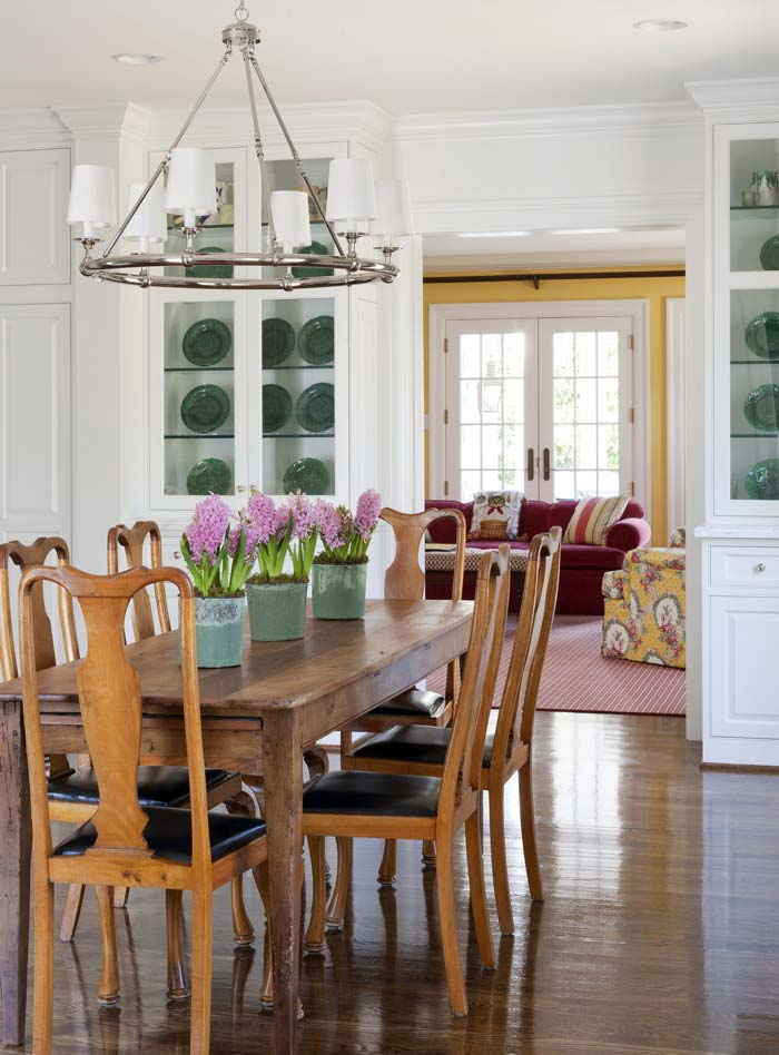 интерьер кухни, белая кухня
