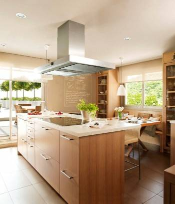кухня, деревянная кухня
