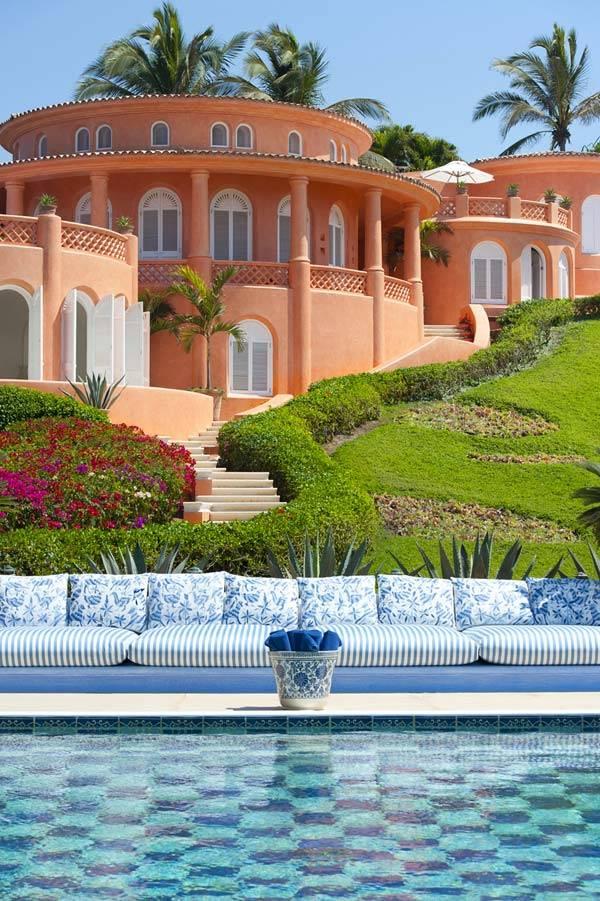 мексиканский отель Cuixmala