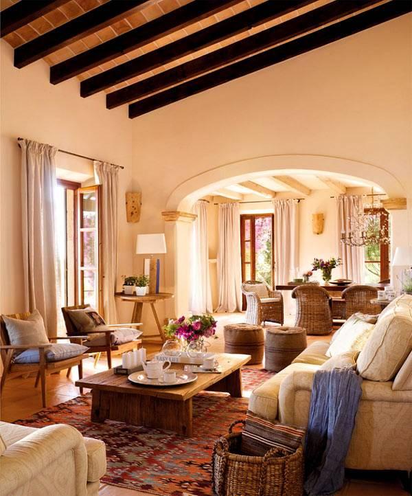 красивый дом с террасой