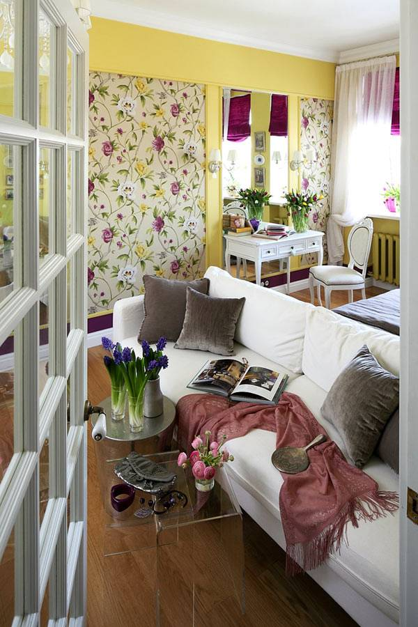 красивая квартира в Москве для женской аудитории