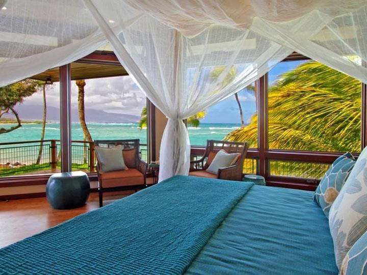 красивые спальни с видом на море