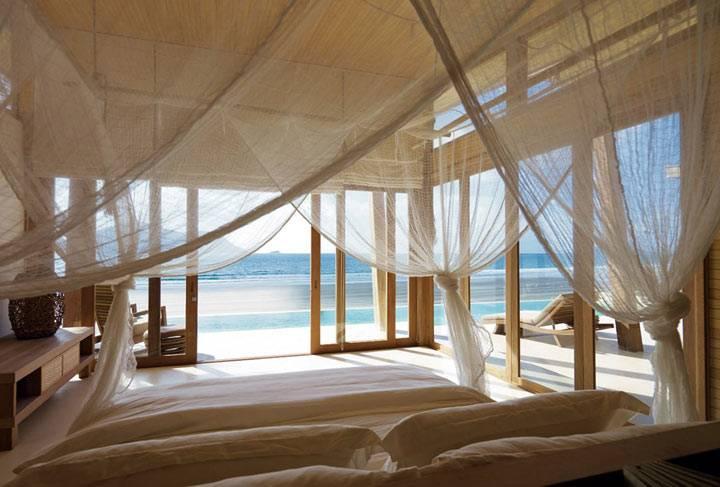 спальни с видом на море