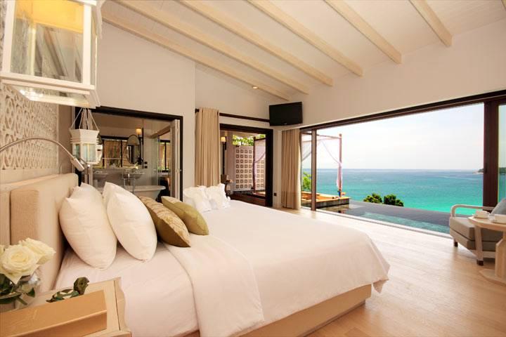 спальня у моря