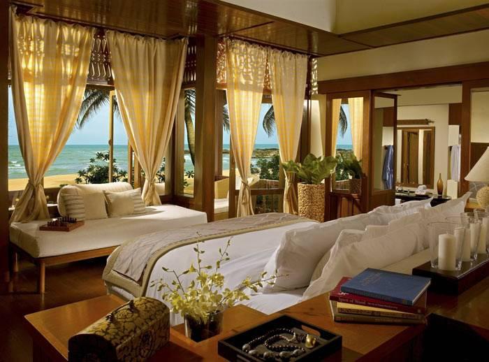 спальни с видом на океан