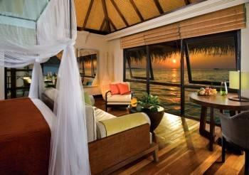 спальня с видом на море фото