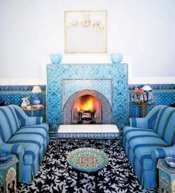 марокканский интерьер