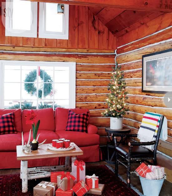 новогодний интерьер дома