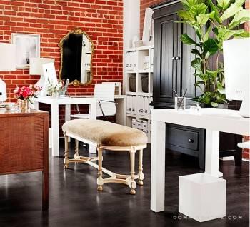 красивый дизайн интерьера офиса