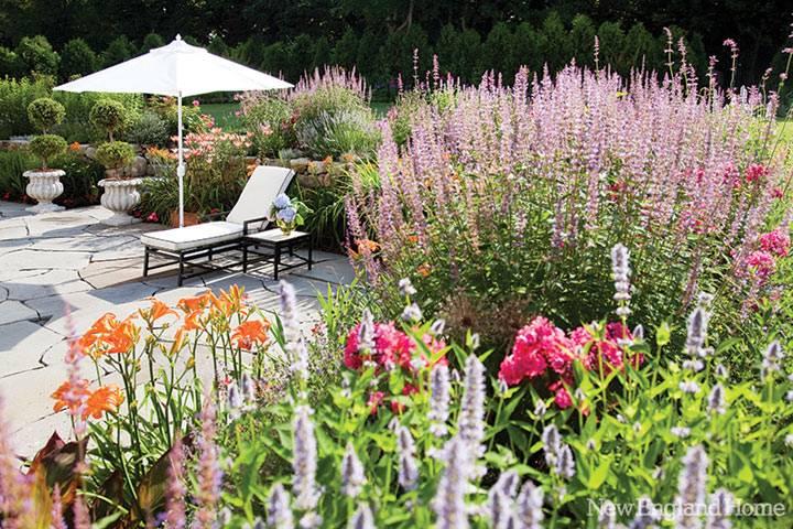 цветочный двор