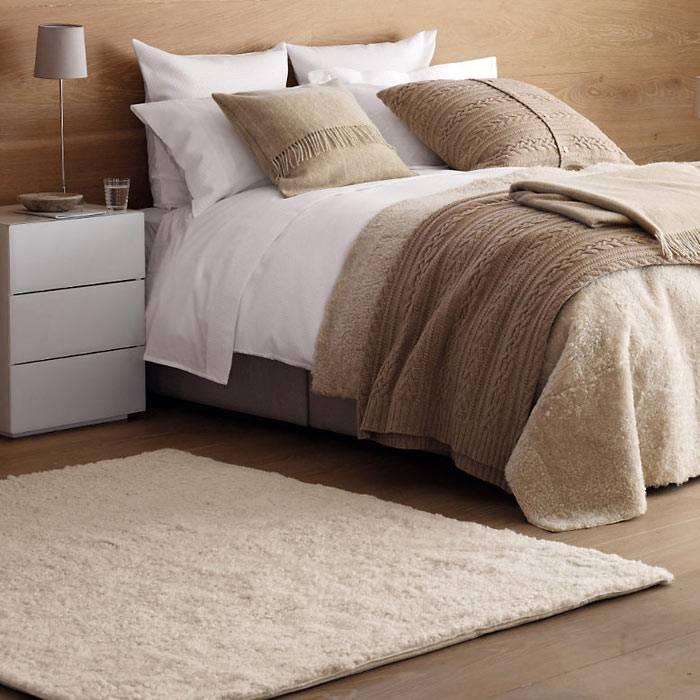 Зимний интерьер спальни: тепло и уют дома
