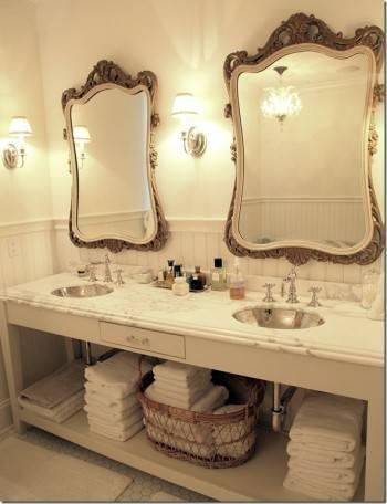 зеркала в ванную комнату