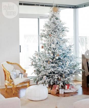 Рождество в интерьере фото