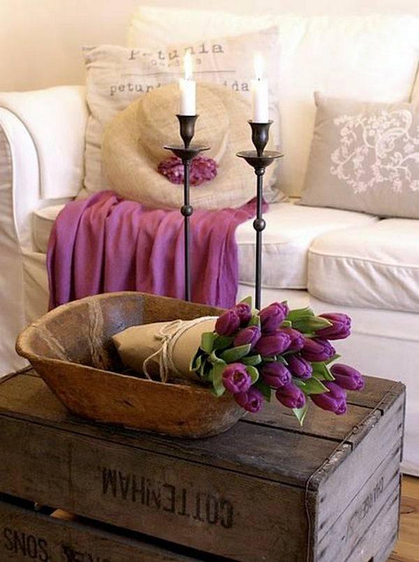 свечи в украшении дома