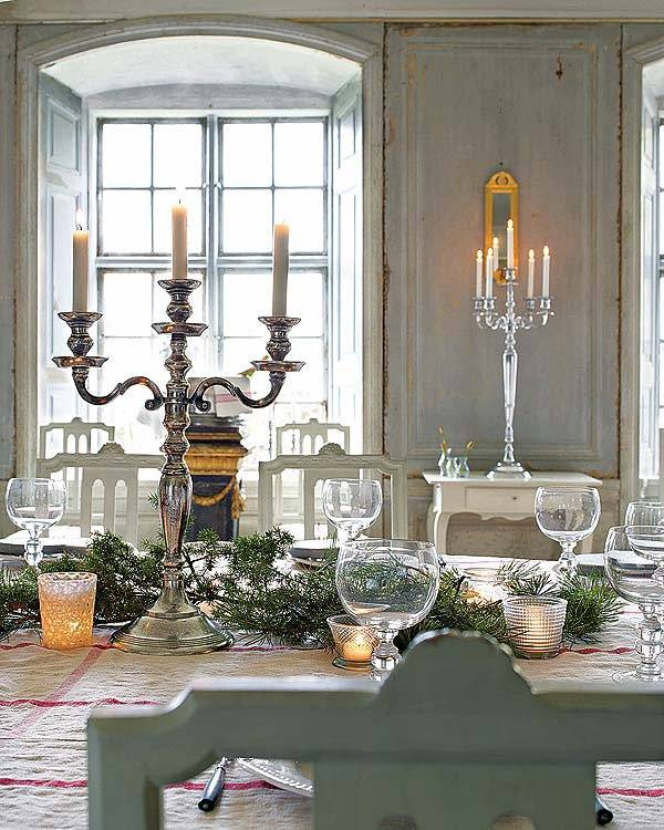 свчечи в декоре