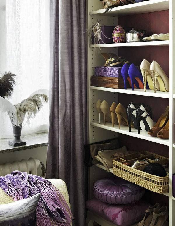 гардеробная комната интерьер