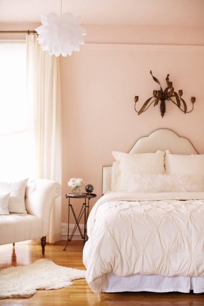 пастельные спальни