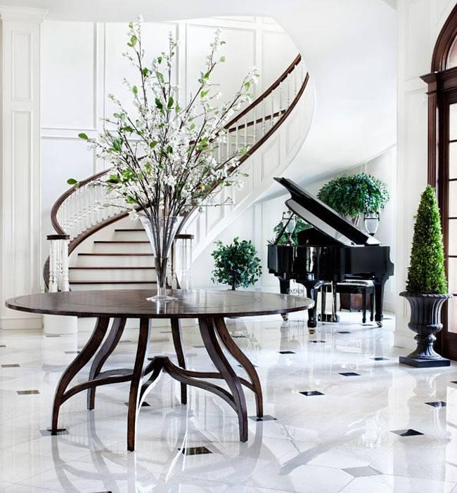 пианино в интерьере