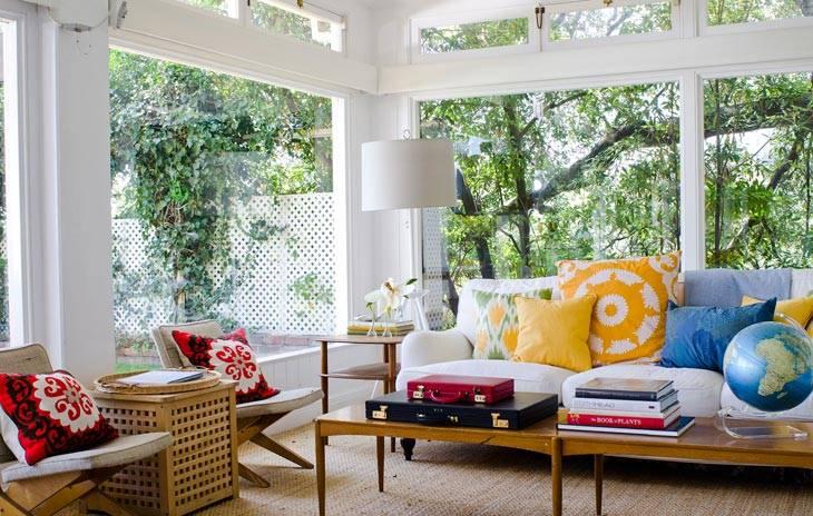 диванные подушки, декор