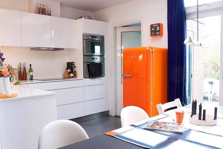 цветной холодильник фото