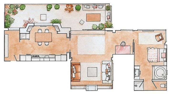 Уютная квартира фото