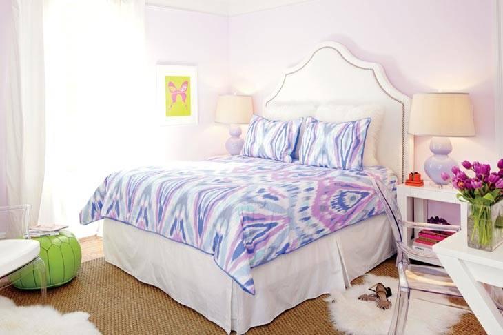 икат для спальни