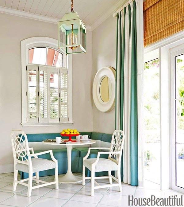 Яркий дизайн интерьера дома на Багамах