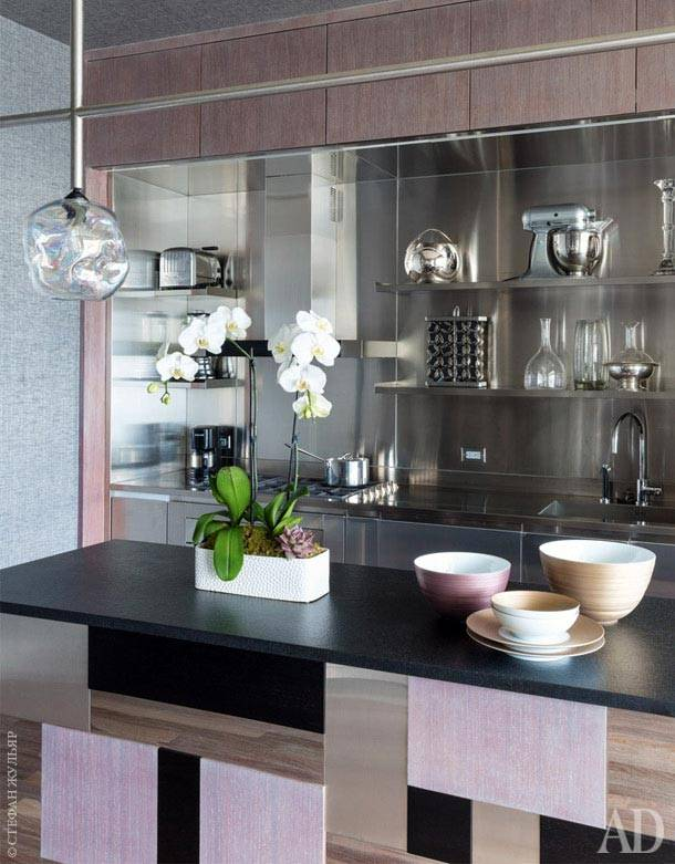 интерьер квартиры в нью-йорке, фото