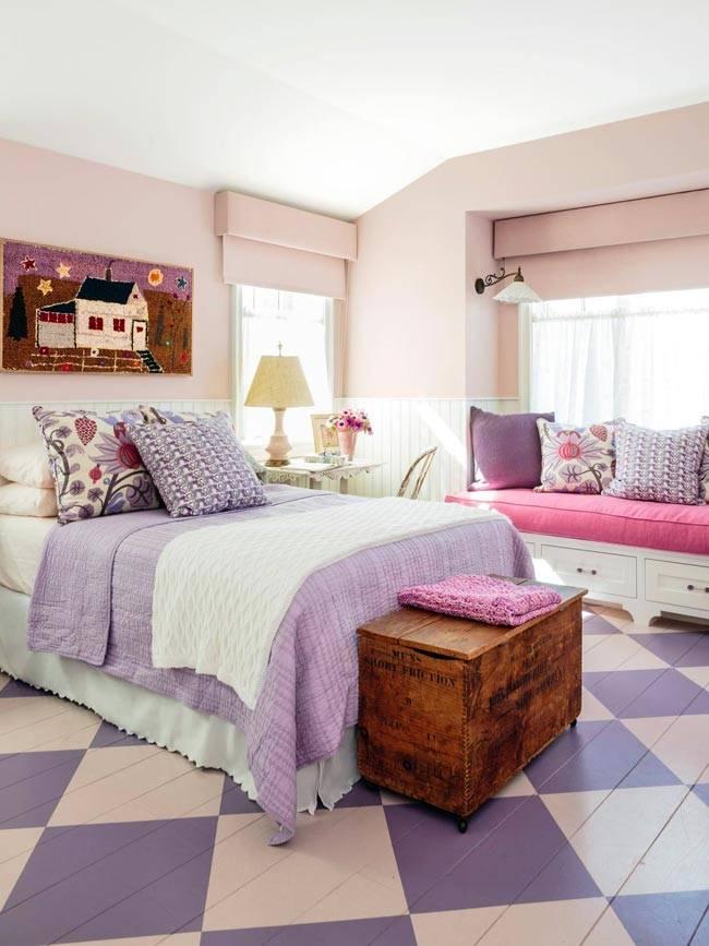 Пастельные цвета в дизайне интерьера дома в Калифорнии, фото