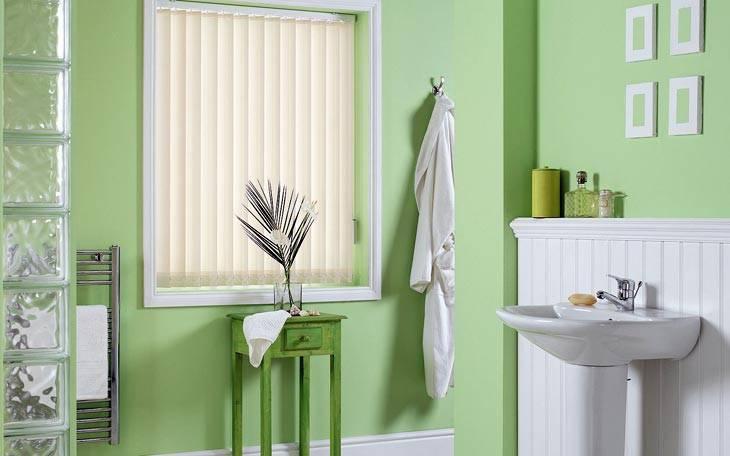 зеленый цвет в интерьере ванной комнаты