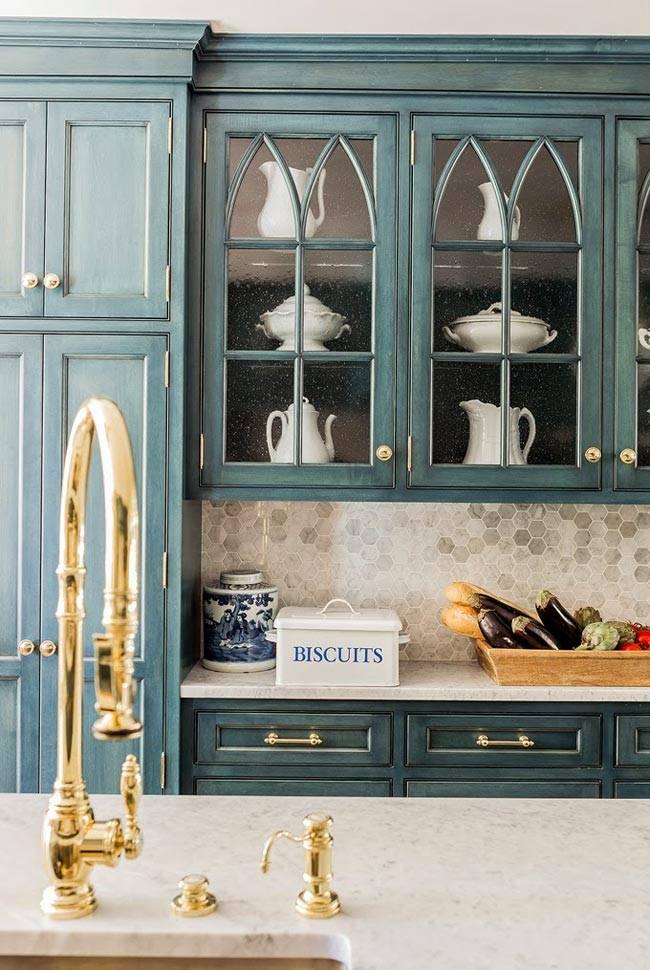 Дизайн интрьера кухни от K. Marshall Design фото