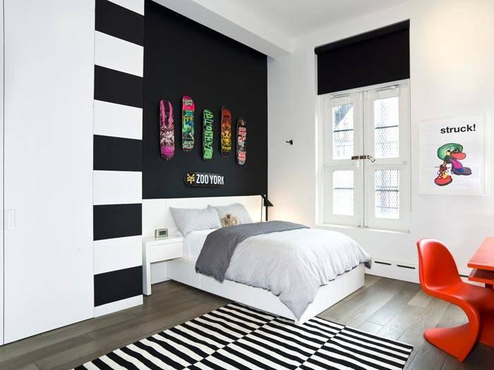 интерьер комнаты подростка
