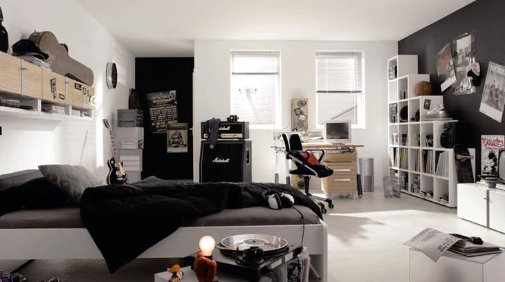 интерьер комнаты-подростка мальчика